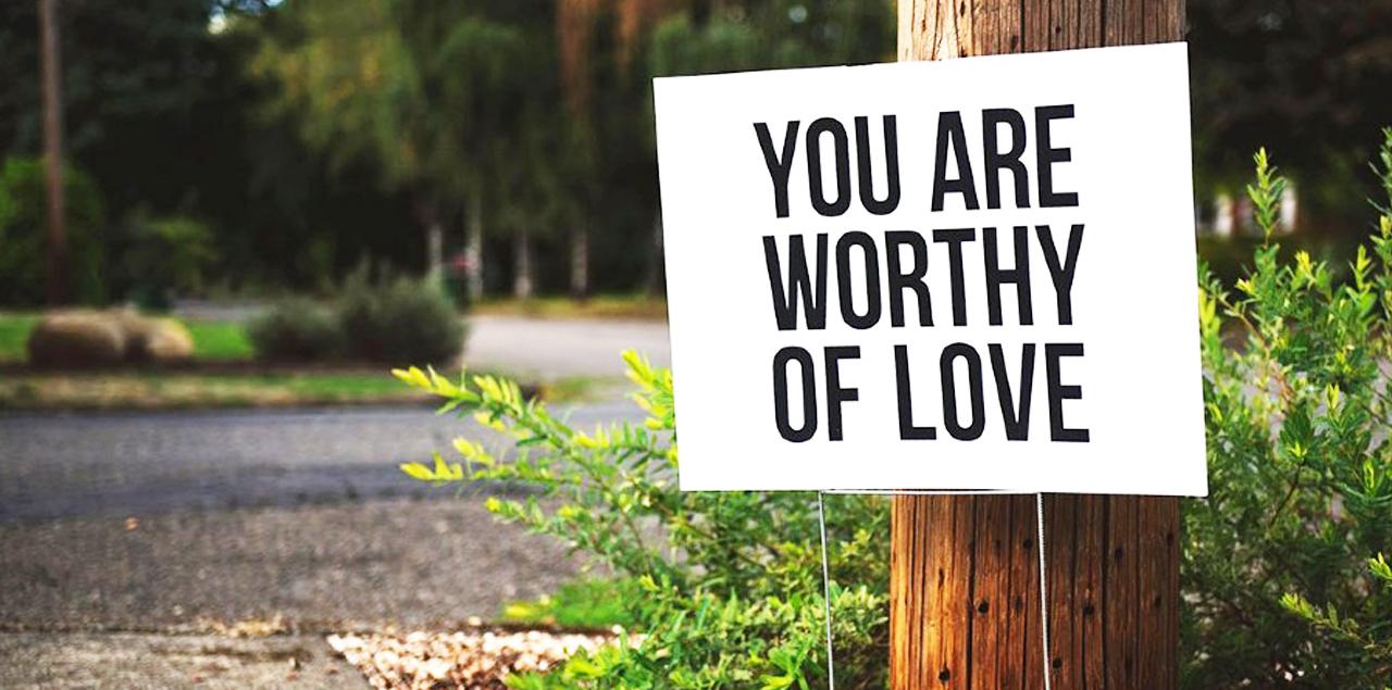 Self worthiness